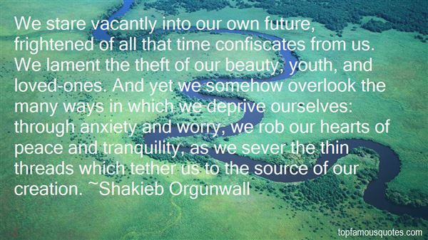 Quotes About Vacant Time
