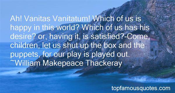 Quotes About Vanitas