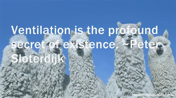 Quotes About Ventilation