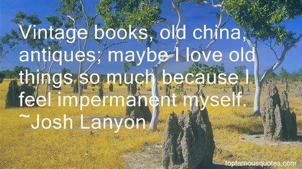 Quotes About Vintage Books