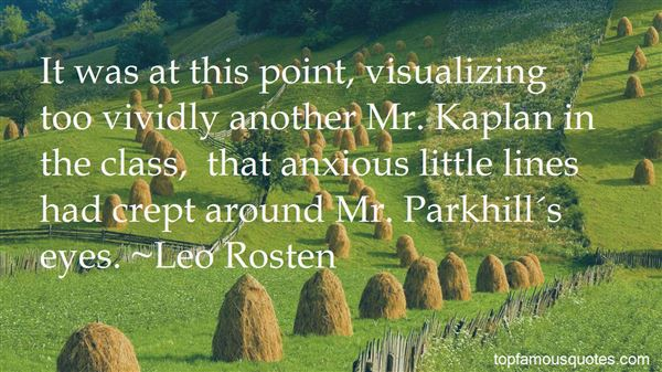Quotes About Visualizing