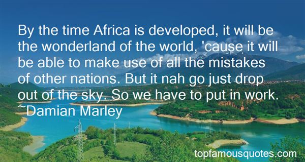 Quotes About Volunteering In Africa