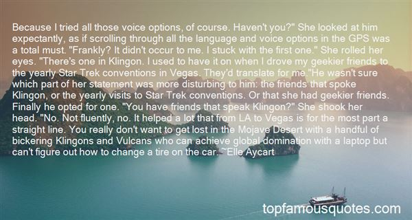 Quotes About Vulcans