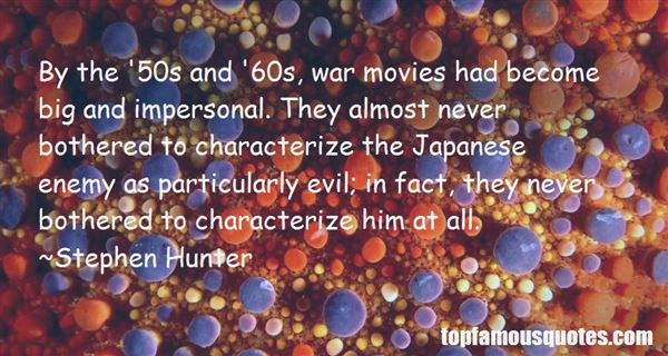 Quotes About War Movies