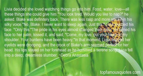 Quotes About Watching You Sleep
