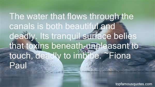 Quotes About Water Canals