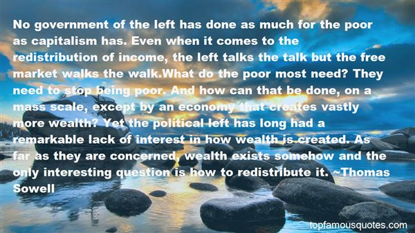 Quotes About Wealth Redistribution