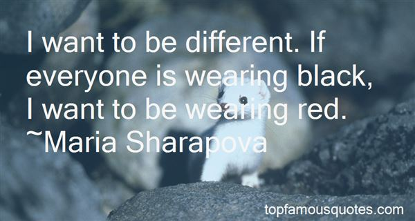Quotes About Wearing Red