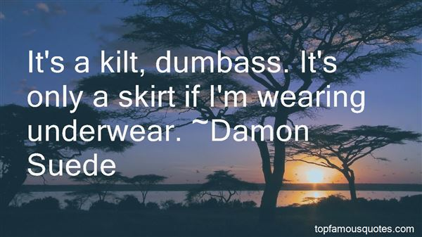 Quotes About Wearing Underwear