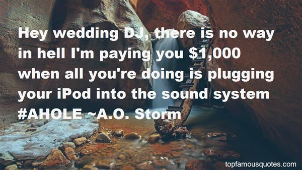 Quotes About Wedding Dj