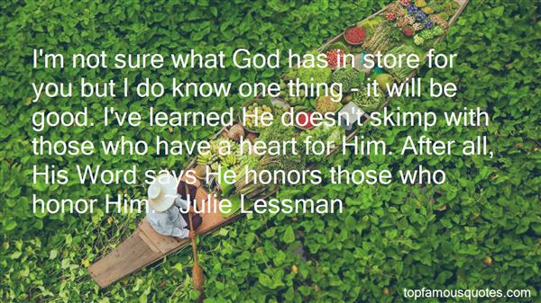 Quotes About What God Has In Store