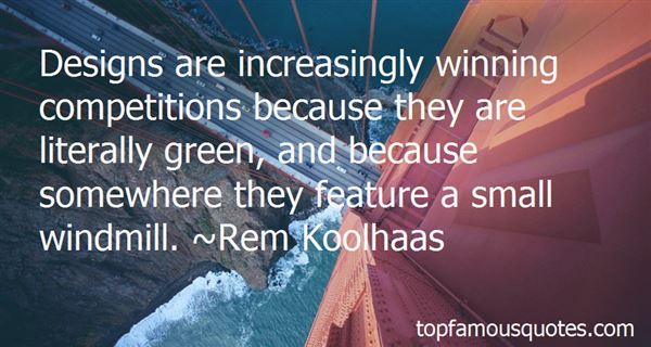 Quotes About Winning Competition