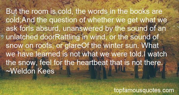 Quotes About Winter And Snow