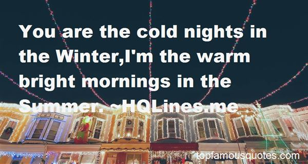 Quotes About Winter Mornings