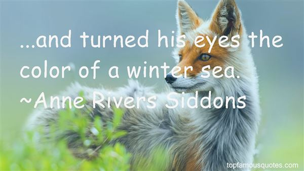 Quotes About Winter Sea
