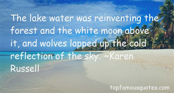 Quotes About Wolves And The Moon