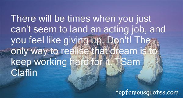 Quotes About Working The Land
