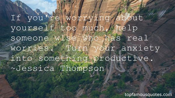 Quotes About Worrying About Someone