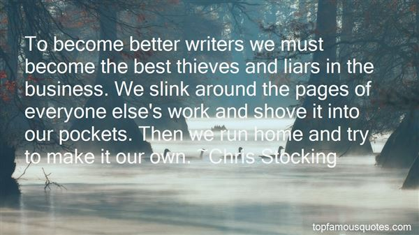 Quotes About Writers Notebooks