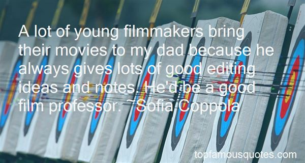 Quotes About Young Filmmakers