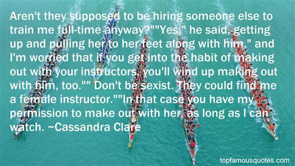 Quotes About Your Instructor