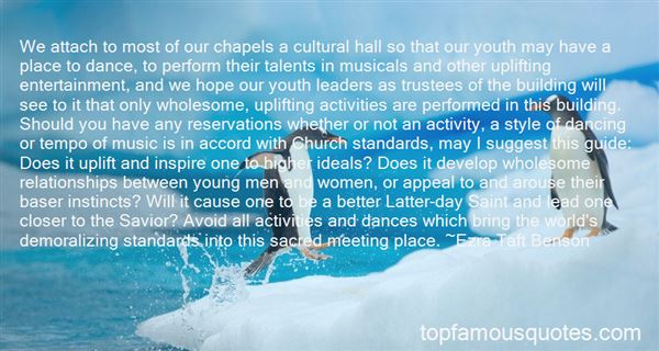 Quotes About Youth Activities