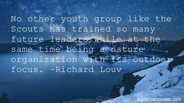 Quotes About Youth Group Leaders