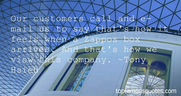 Quotes About Zappos